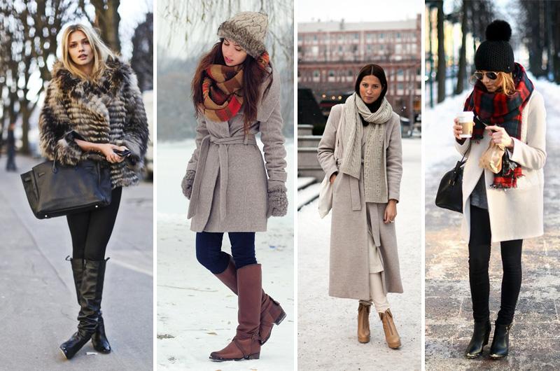 Что носят модные женщины зимой